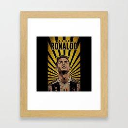 Ronaldo Juve Fulcolor Framed Art Print