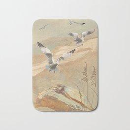 Gulf Coast Gulls Bath Mat