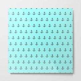 anchor minty green dot com on cdrom Metal Print