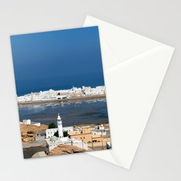 Sur town near Muscat - Oman Stationery Cards