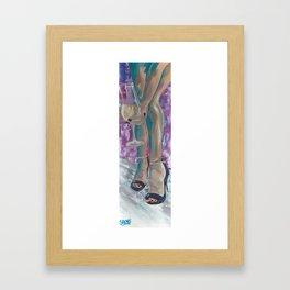 Chardonnay Nights Framed Art Print