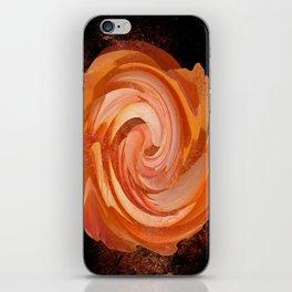 Chocolate Orange Crunch iPhone Skin