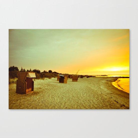 sunset now Canvas Print