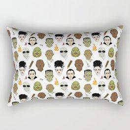 Monster Mash pattern Rectangular Pillow