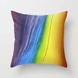 Pixel Sorting 45 Throw Pillow