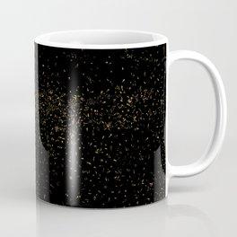 Golden Fleck Backgound Coffee Mug