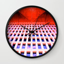Lurid Library Wall Clock