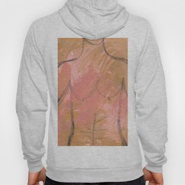 Nude Abstract Couple: His Hoody