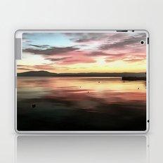 Sunset Reflected On Water Laptop & iPad Skin
