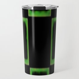 green bricks Travel Mug