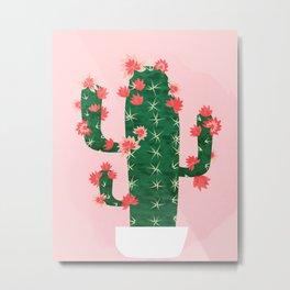 If You Need a Cacti Metal Print