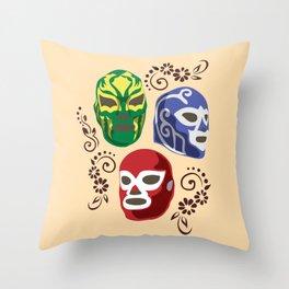 Máscaras Throw Pillow
