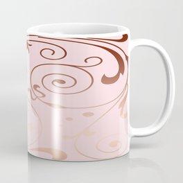 Rose Quartz Gold Komingo Coffee Mug