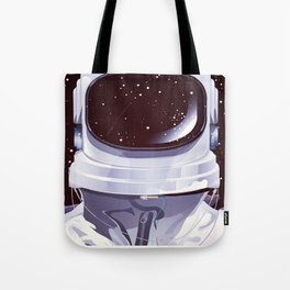 Vintage astronaut training poster Tote Bag