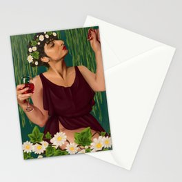 ranya persephone Stationery Cards