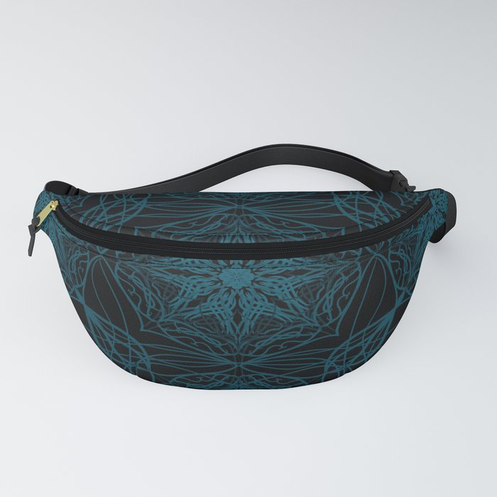 Moroccan tile print Fanny Pack