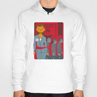 1984 Hoodies featuring 1984 by Cristian Barbeito