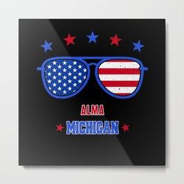 Alma Michigan Metal Print