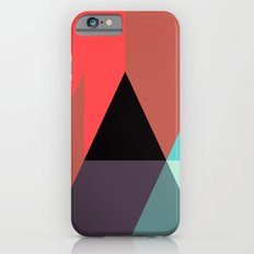 Black Triangle & Reds Slim Case iPhone 6s