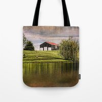 kentucky Tote Bags featuring Kentucky CountrySide by ThePhotoGuyDarren
