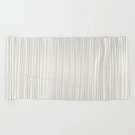 White | Japanese Atmospheres Beach Towel