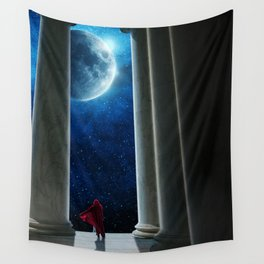 Moon Temple Wall Tapestry
