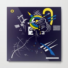 Wassily Kandinsky Small Worlds VII Metal Print