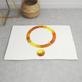 Golden Circl Rug