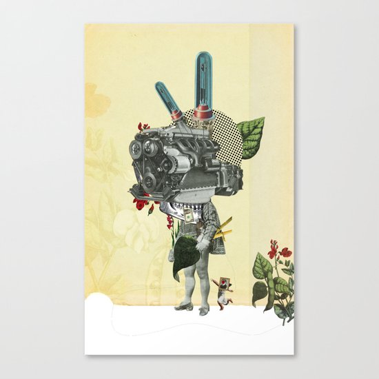 The truth is dead 3 Canvas Print