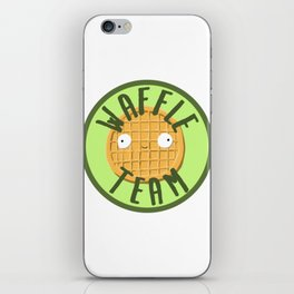 Waffle Team iPhone Skin