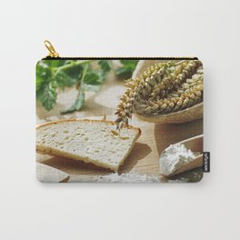 Fresh bread and wheat germ Carry-All Pouch