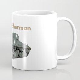 Sherman American WW2 Tank Coffee Mug
