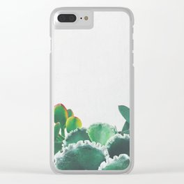 Plant Trio Clear iPhone Case