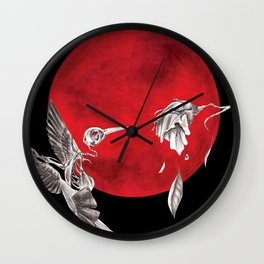 Revived Hummingbird Wall Clock