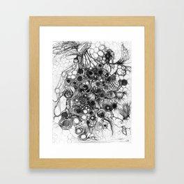 Honeycomb - sketch Framed Art Print