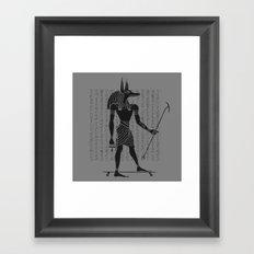 Ancient Dogtown Framed Art Print