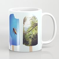 popsicle Mugs featuring Popsicle by Jemma Pope
