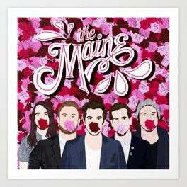 The Maine roses Art Print