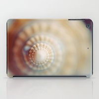 shell iPad Cases featuring Shell by elle moss