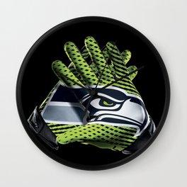 Seattle Gloves Wall Clock