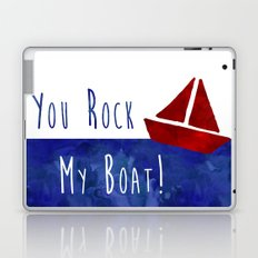 Your Rock My Boat Laptop & iPad Skin