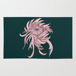 Night Chrysanthemum Rug
