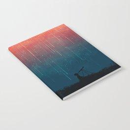 Meteor rain Notebook