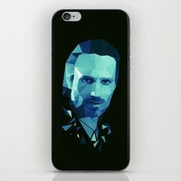 rick grimes iPhone & iPod Skins featuring Rick Grimes - The Walking Dead by Dr.Söd