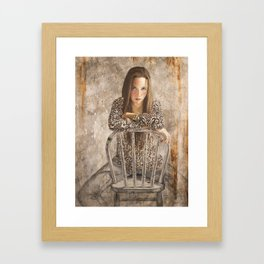Janessa by Jacques Lajeunesse Framed Art Print