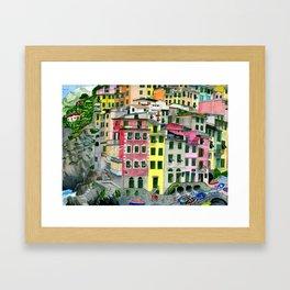 Cinque Terre Framed Art Print