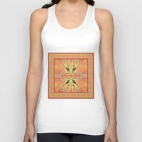 ashton irwin Tank Tops featuring Syphilis Tapestry by Alhan Irwin by Microbioart