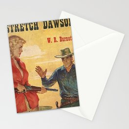 Vintage Western Book Cover Stationery Cards
