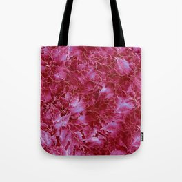 Frozen Leaves 23 Tote Bag