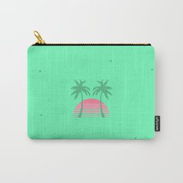 Geometric 80's Sunset Carry-All Pouch